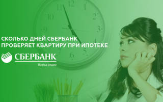 Сколько времени банк проверяет документы на квартиру