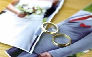 Правила развода после заявления одной стороны