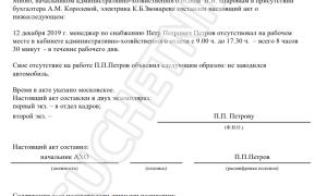 Порядок увольнения за прогулы по ТК РФ