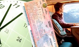 Правила сдачи билетов на поезд РЖД