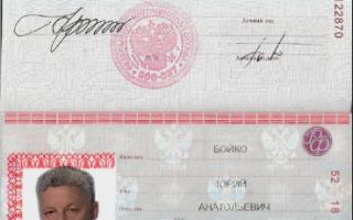 Срок действия паспорта после достижения 45 лет
